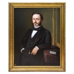 Ramón de Campoamor, Oil on Canvas, Signed, Ojeda Y Siles, Manuel, 1857