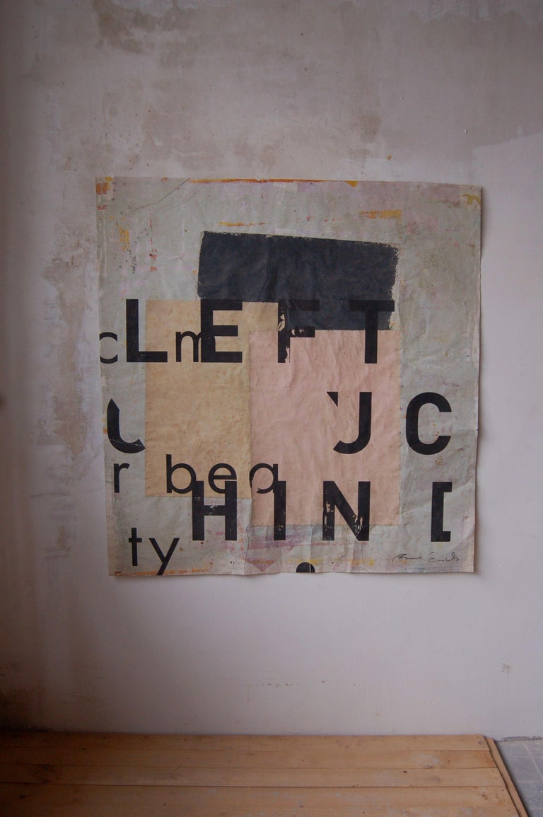 ATZ, Typography series - Contemporary Painting by Ramon Enrich
