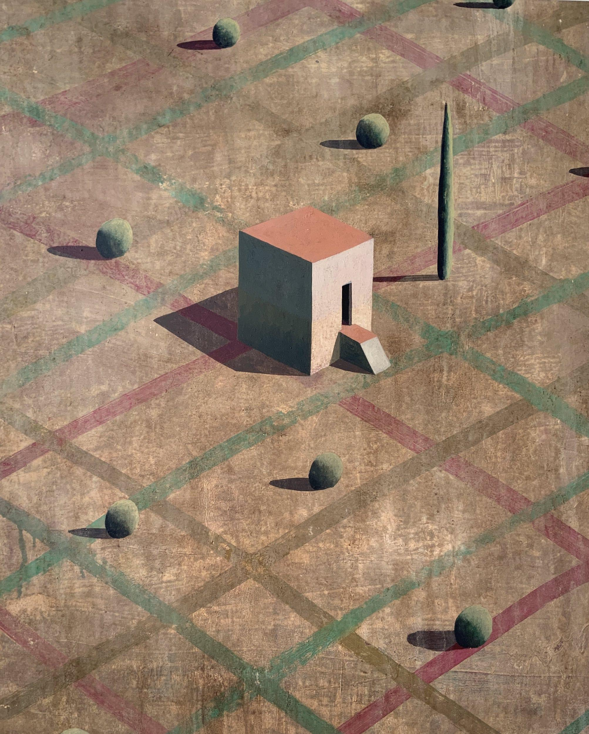 ALS ICH CHAN - Contemporary Geometric Landscape painting