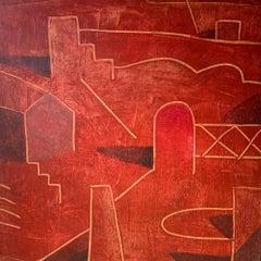 CALD - Contemporary Geometric Landscape painting
