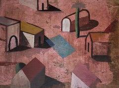 Comon - Contemporary Geometric Landscape Painting, Large scale