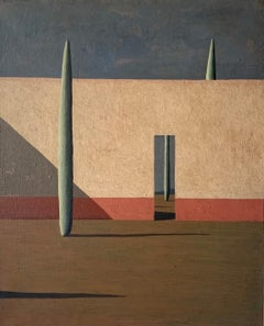 DGW by Ramon Enrich - Contemporary Geometric Landscape Painting