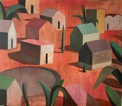 JONÇA - Contemporary Geometric Landscape Painting