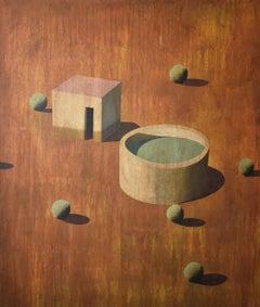 MAFI - Contemporary Geometric Landscape painting