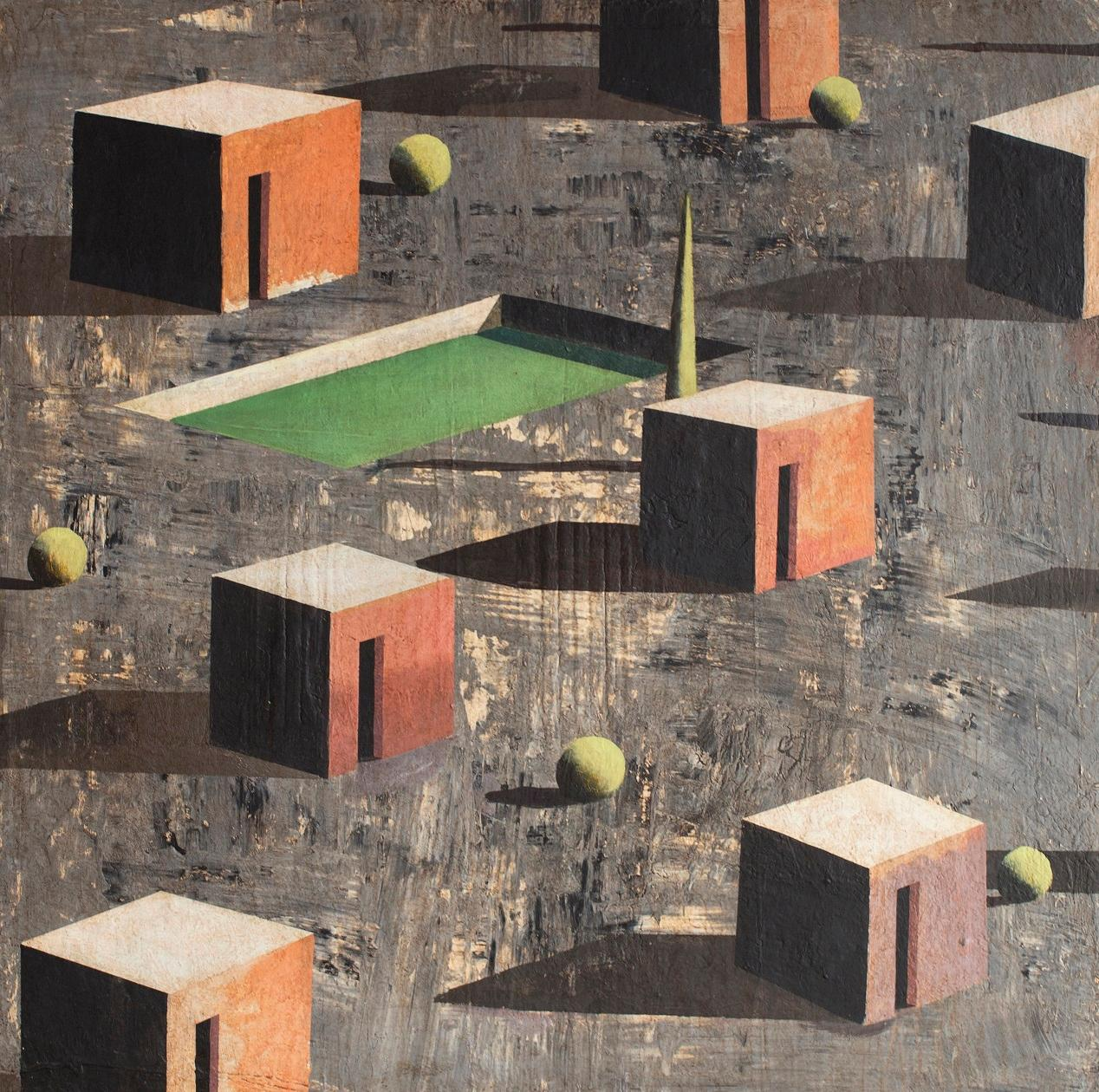 Mior, Contemporary Geometric Landscape Painting
