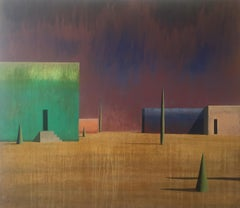 Noe II, Contemporary Geometric Landscape Painting