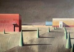 PER-2 - Contemporary Geometric Landscape Painting