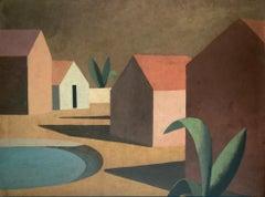 RAVEL - Contemporary Geometric Landscape Painting