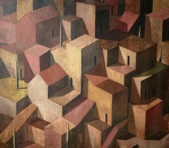 RINT by Ramon Enrich - Contemporary Geometric Landscape Painting