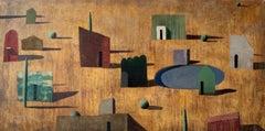 SHA 12, Large Landscape Painting