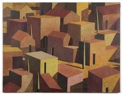 SOJ, Contemporary Geometric Landscape Painting