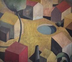 ZA - Contemporary Geometric Landscape Painting