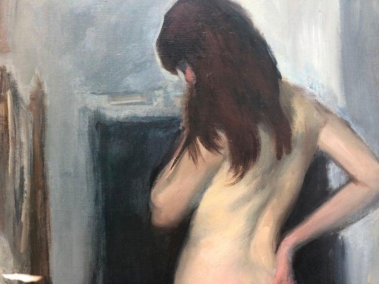 Ramón Pichot female nude original oil painting canvas c.1960 4