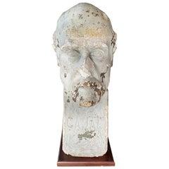 Ramon y Cajal Stucco Bust