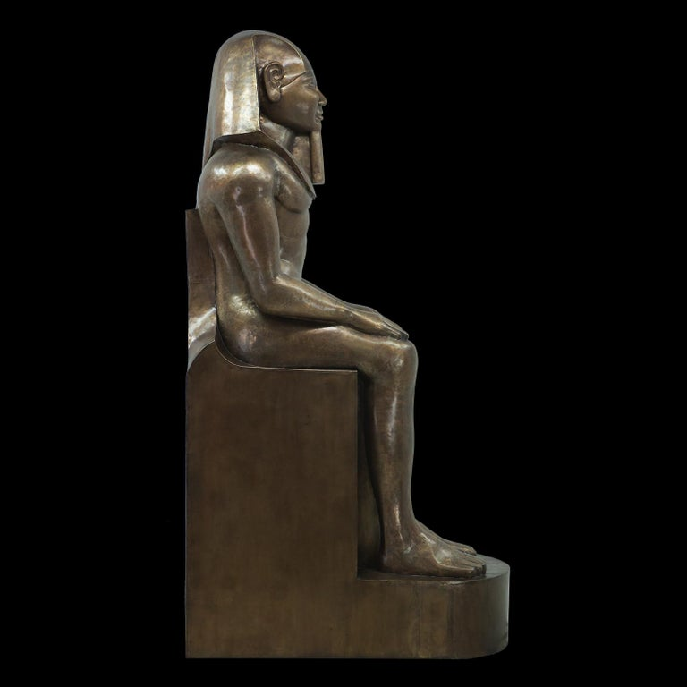 Ramses II Sculpture In Excellent Condition For Sale In Paris, FR