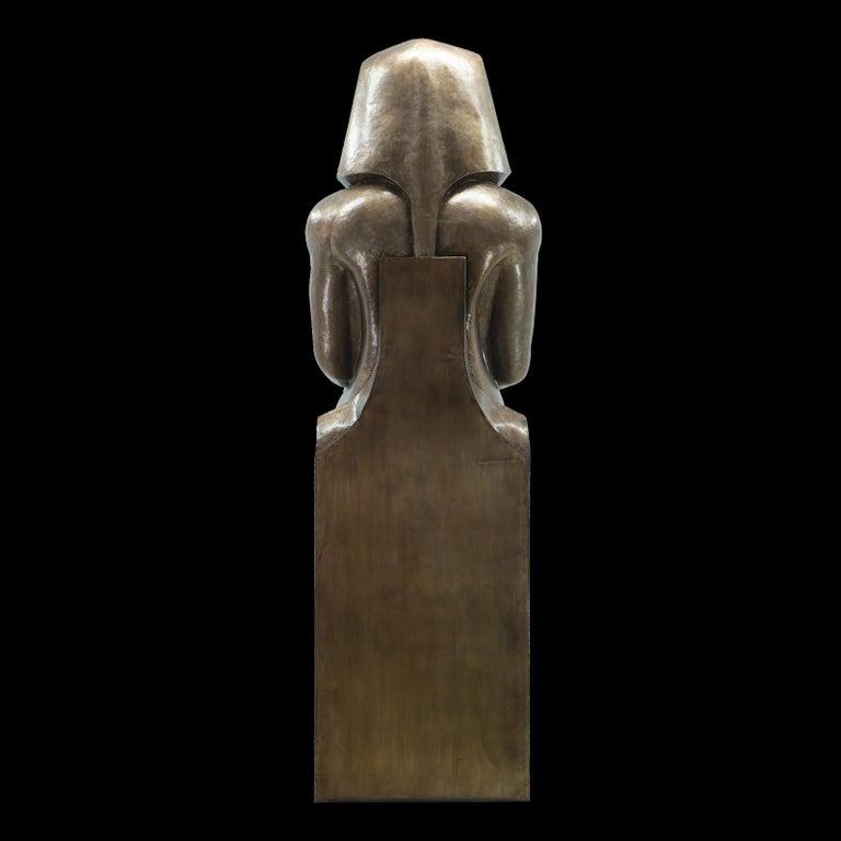 Brass Ramses II Sculpture For Sale
