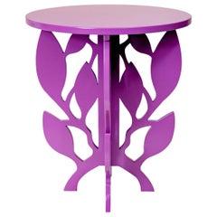 Ramy Purple Side Table by Giannella Ventura