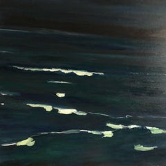 Night sky, Painting, Acrylic on Canvas