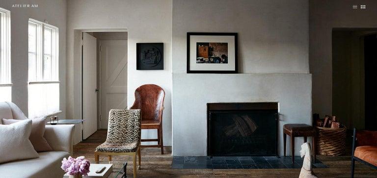 Ranch Oak Side Chair by A. Brandt Co. For Sale 1