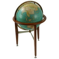 Rand McNally Floor Globe Attributed to Wormley