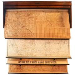 Rand McNally Railroad Map Set