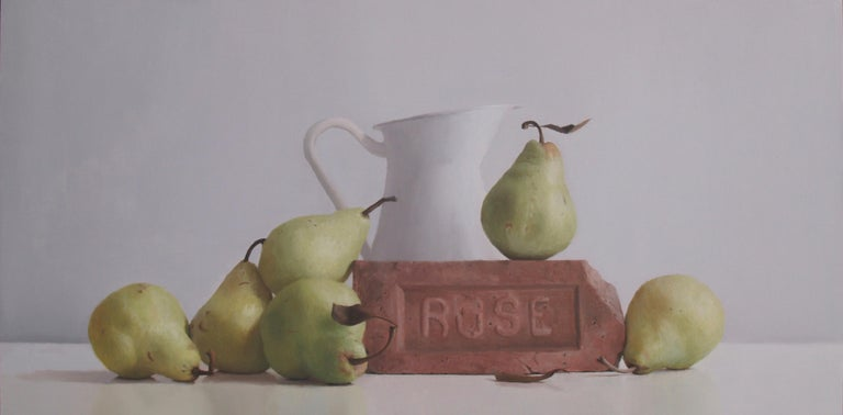 Randall Mooers Still-Life Painting - The Ruse