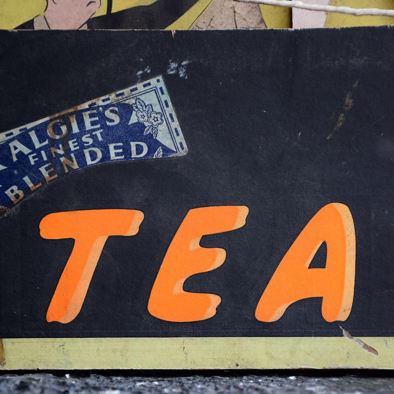 Randell Page Scratch-Built Tea Advertising Automaton, circa 1940 In Fair Condition For Sale In London, GB