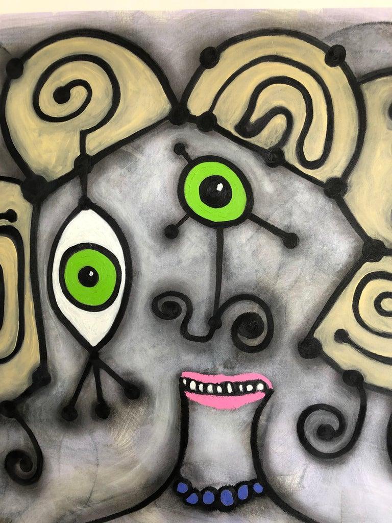 Dirty Blonde - Painting by Randi Grantham