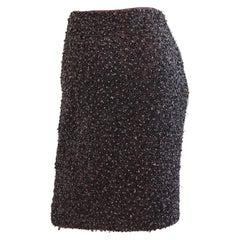 Randolph Duke Vintage Genuine Amethyst Beaded Skirt