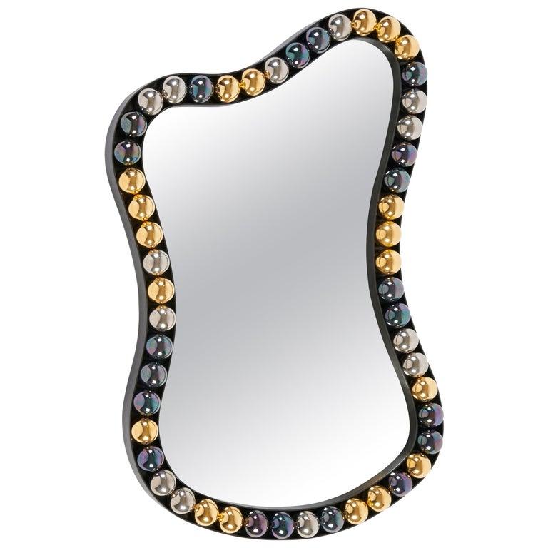 """""""Rang de Perles"""" Mirror, Elizabeth Garouste Limited Edition For Sale"""