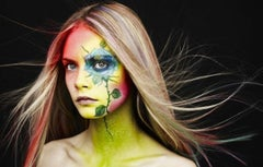 Painted Flower Face