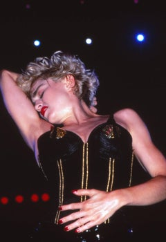 Madonna: The Queen of Pop Performing Fine Art Print
