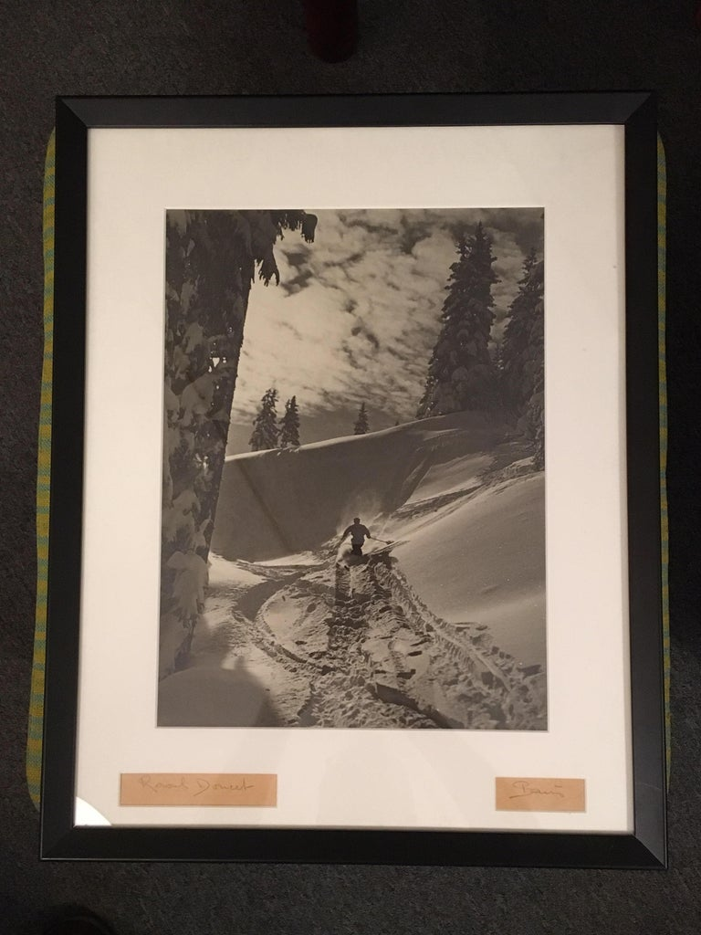 Raoul Doucet Downhill Skiing Photograph 3