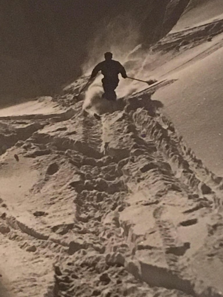 Raoul Doucet Downhill Skiing Photograph 1