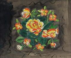 Bouquet de Fleurs by Raoul Dufy - Fauvism