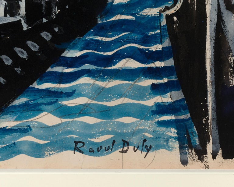 Emprunt 6% Souscrivez (War Loan 6% Subscribe) by Raoul Dufy For Sale 3