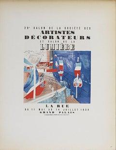 1959 After Raoul Dufy 'Artistes Decorateurs Salon de la Lumiere'