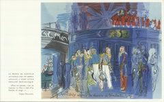 After Raoul Dufy 'Le Prince de Joinville recu a bord d'une fregate anglaise'