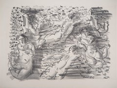 Bathers - Original lithograph