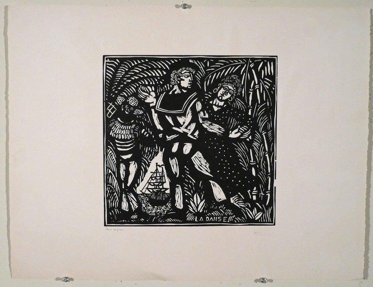 LA DANSE - Print by Raoul Dufy