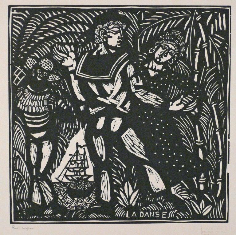 Raoul Dufy Figurative Print - LA DANSE