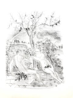 Raoul Dufy - Adam and Eve in Modernity - Original Etching
