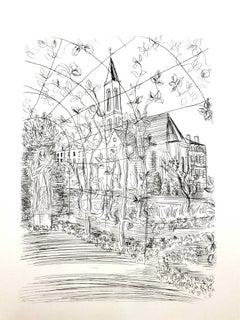 Raoul Dufy - Church - Original Etching