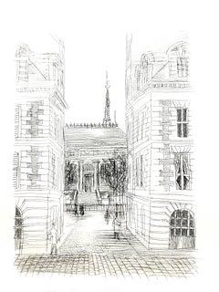 Raoul Dufy - Haussmann Architecture - Original Etching