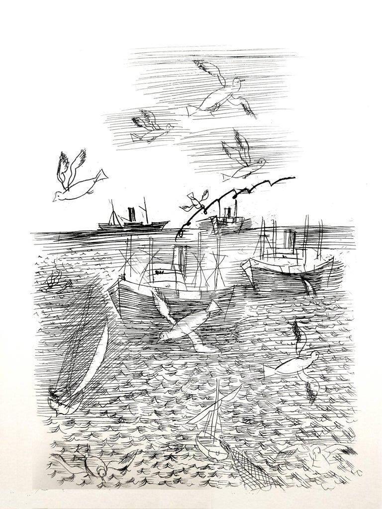 Raoul Dufy - Freedom - Original Etching - Print by Raoul Dufy