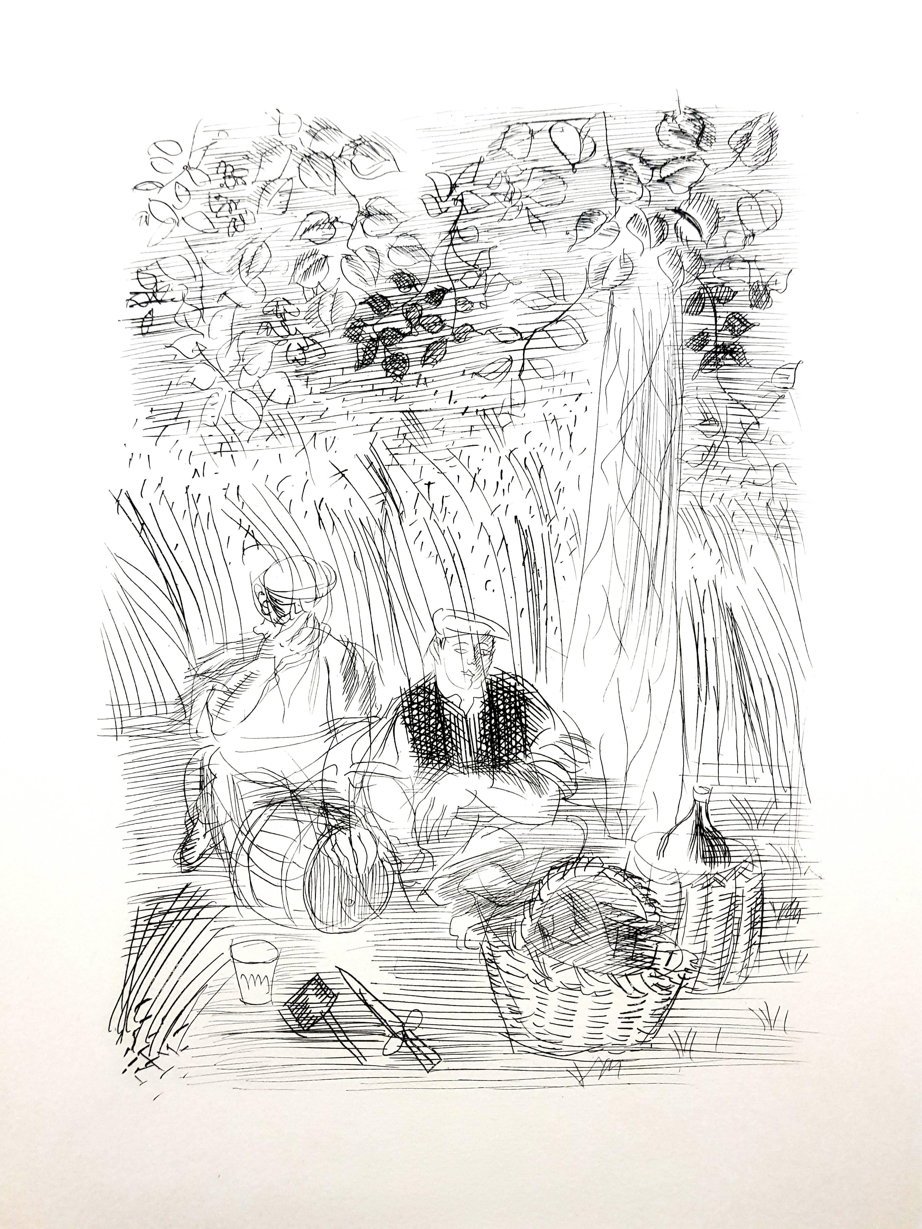 Raoul Dufy - Paysan - Original Etching