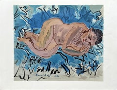 The Bather - Lithograph Signed in the Plate (Mourlot)