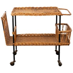 Raoul Guys Rattan Trolley