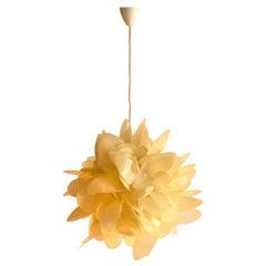 "Raoul Raba Large ""Desert Rose"" Pendant Lamp, France, 1969"