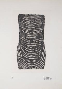 Black Imprint - Original Etching, Handsigned